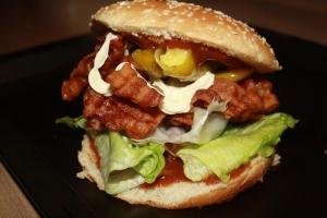 Dirty Bacon Burger